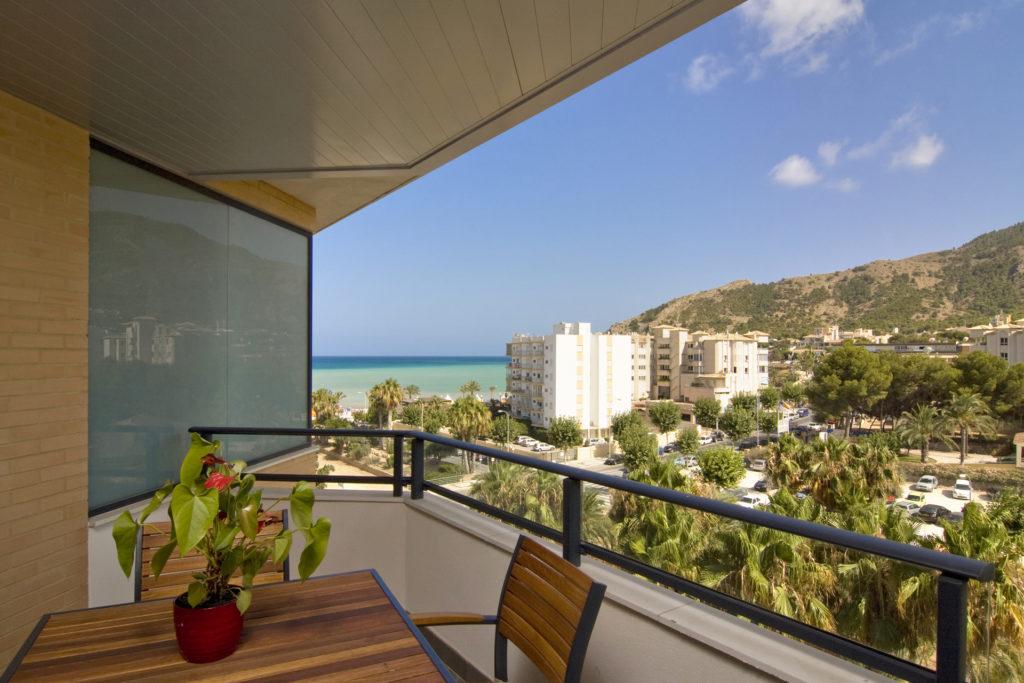 Apartamentos en El Albir con vistas al Mar